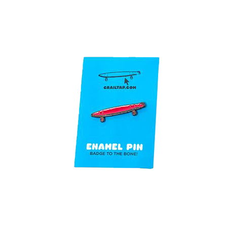 Crailtap Crail Skateboard Enamel Pin