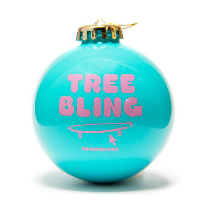 Crailtap Ornament Tree Bling Teal
