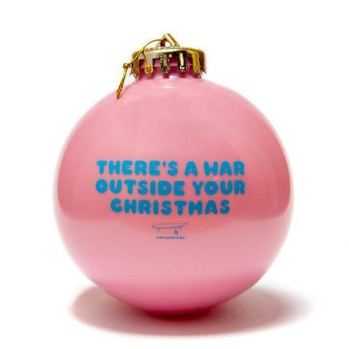 Crailtap Ornament War Pink