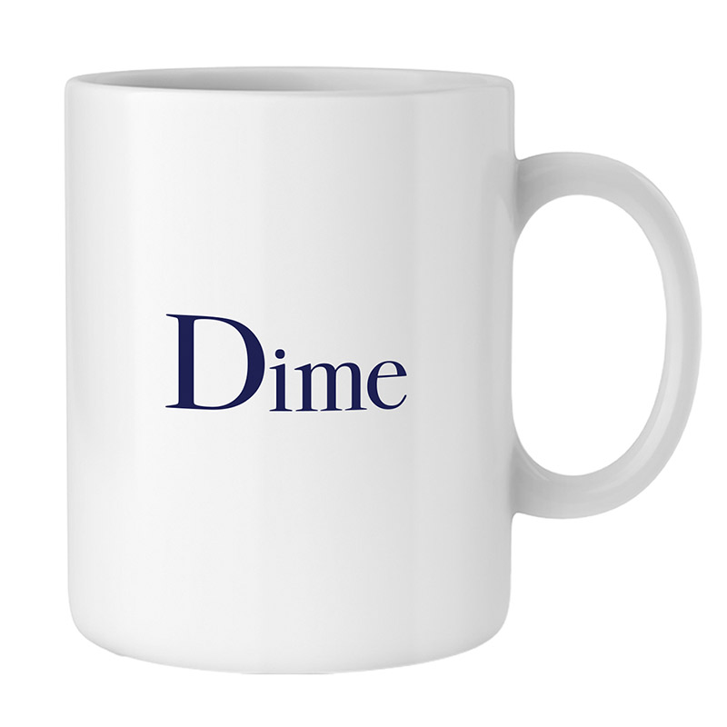 Dime Classic Logo Mug White