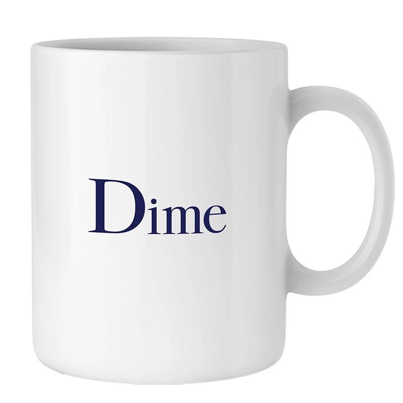 Dime Mug White