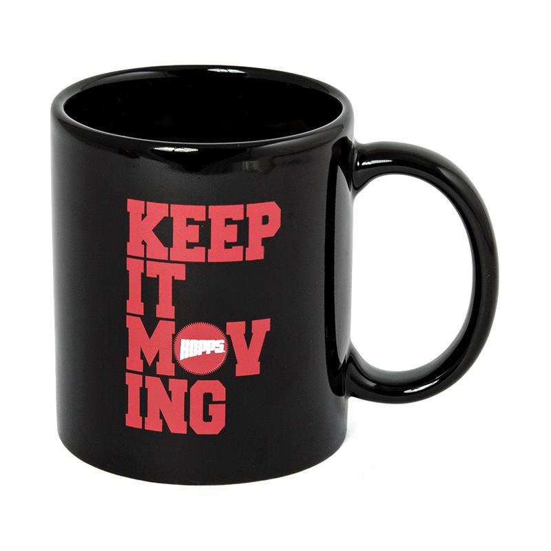 Hopps Keep It Moving Coffee Mug Black
