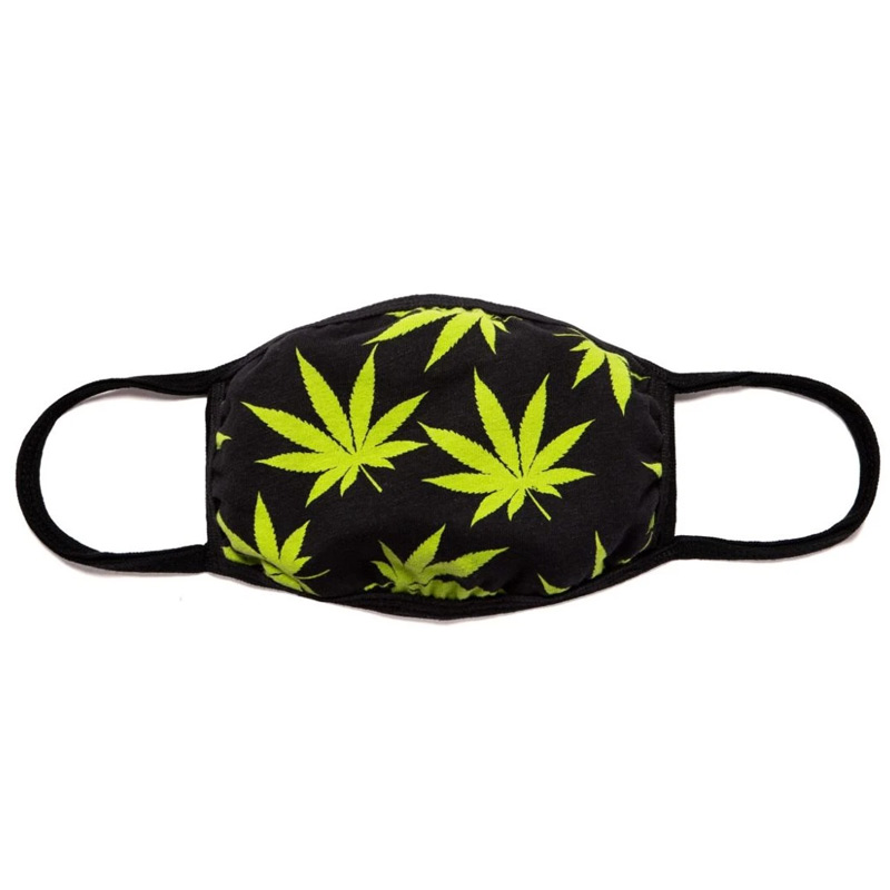 HUF Plantlife Mask Black