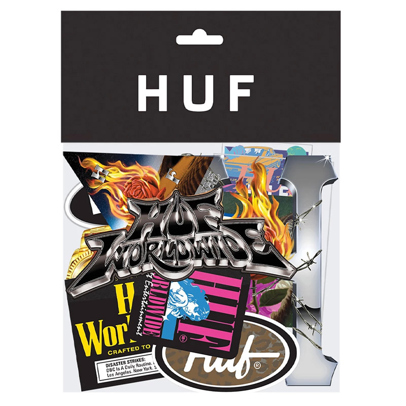 HUF Sticker Pack Multi