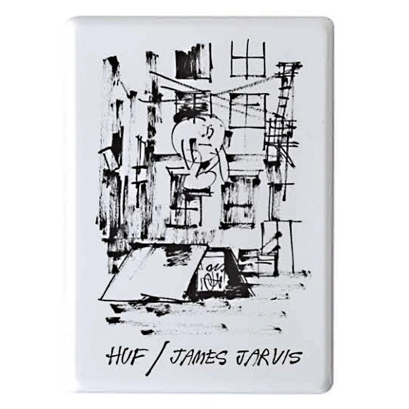 HUF X James Jarvis Magnet White