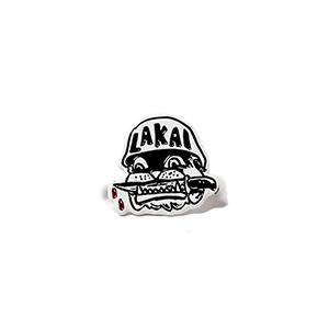 Lakai Street Dogs Pin Black/White