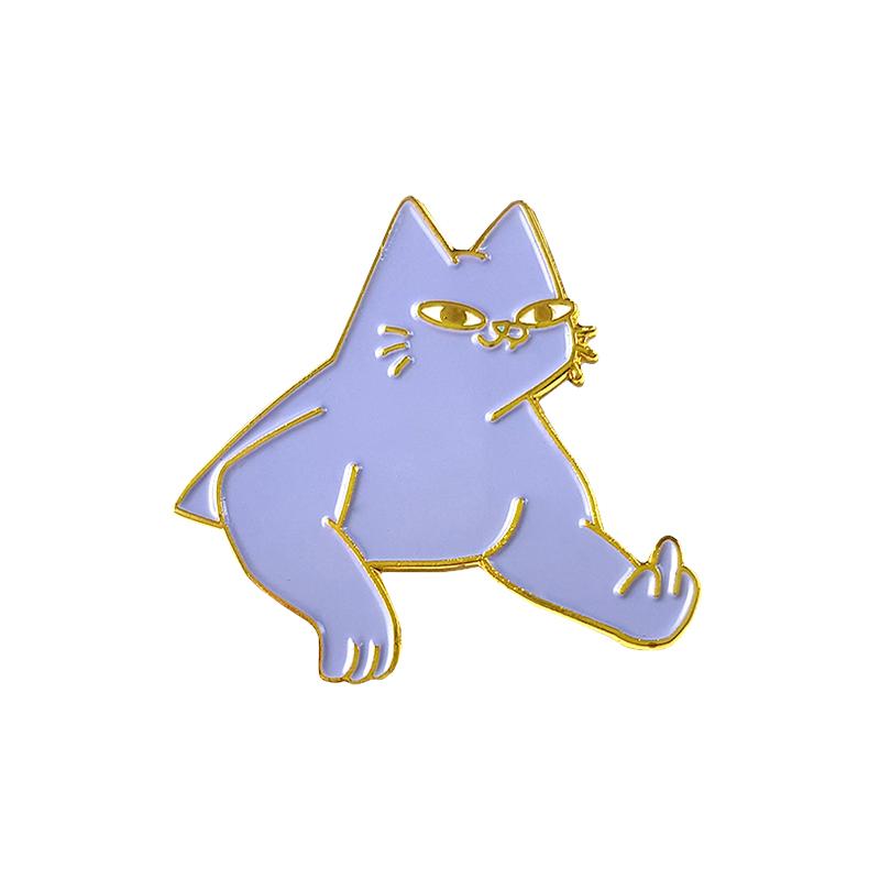 Leon Karssen Tobba The Cat Pin