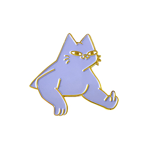 Leon Karssen Tobba The Cat Pin