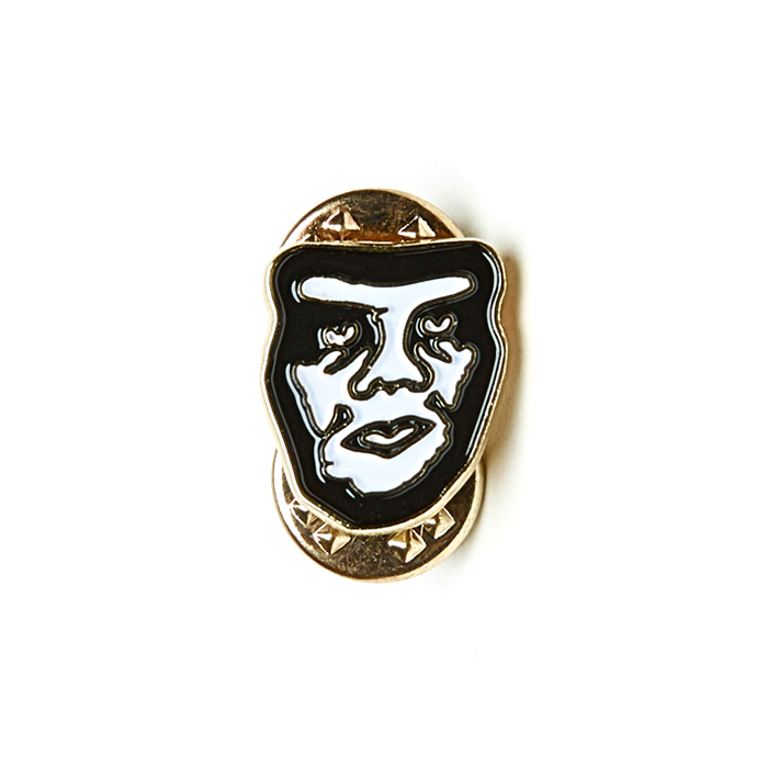 Obey Creeper Pins White