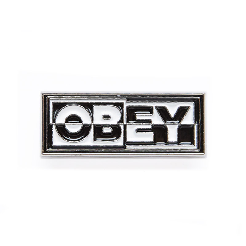 Obey Inside Out Pin Black/White