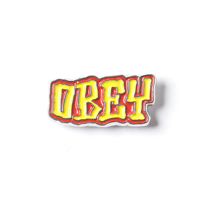 Obey Obey Better Days Pins Yellow/red