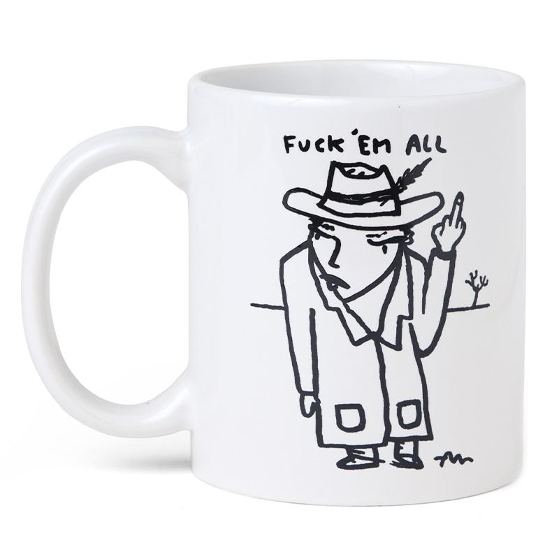 Polar Fuck' Em All Mug White / Black