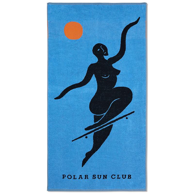Polar No Complies Forever Beach Towel Blue