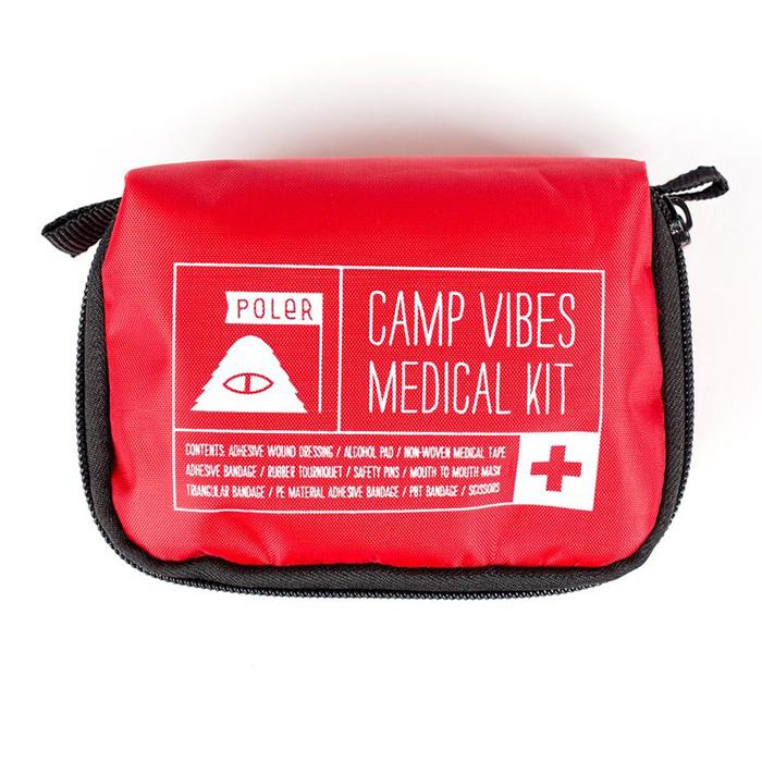 Poler Make It Or Break It First Aid Kit Red