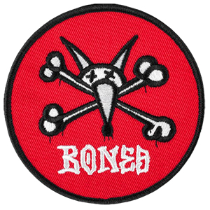 Powell Peralta OG Vato Rat Red 3.5 Inch Patch