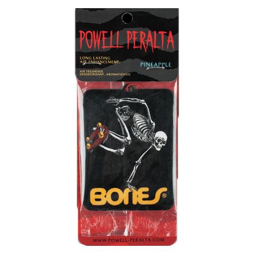 Powell Perlata Skateboard Skeleton Air Freshener Pineapple