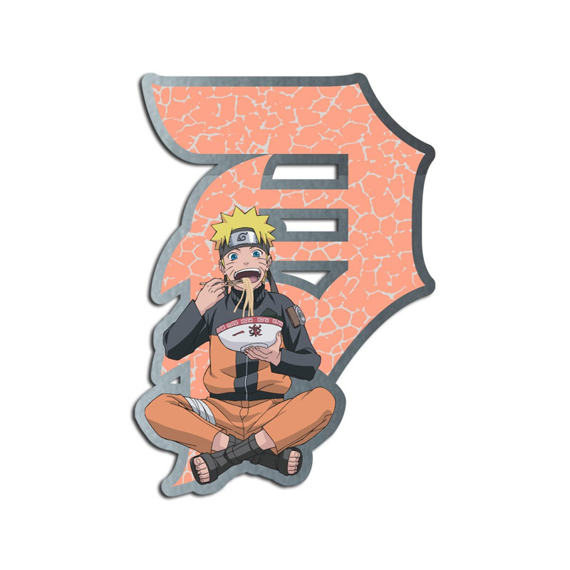 Primitive x Naruto Ichiraku Enamel Pin Orange