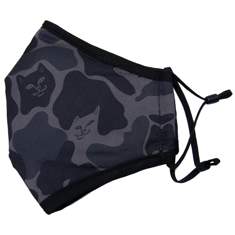 RIPNDIP Blackout Camo Ventilated Face Mask