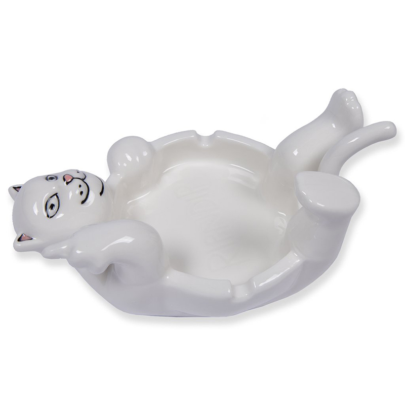 RIPNDIP Lazy Nerm Ceramic Ash Tray White