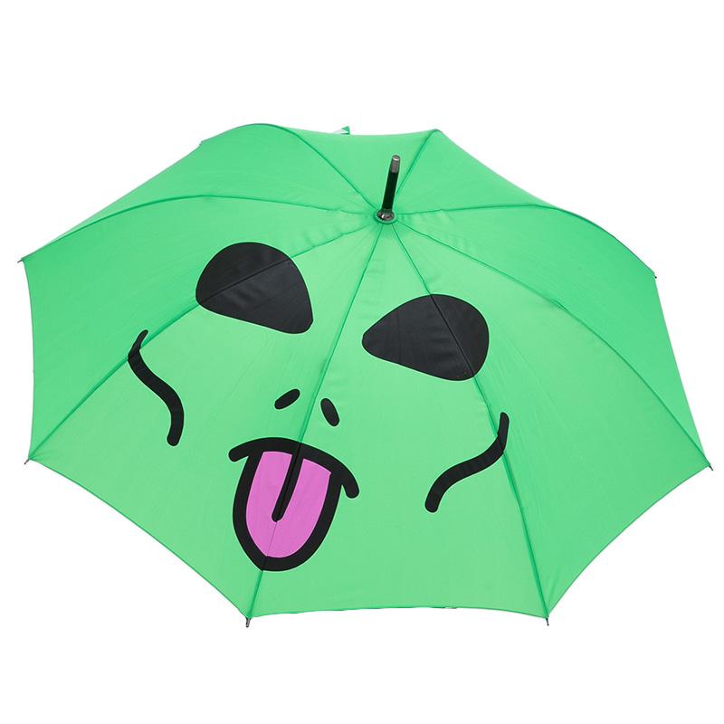 RIPNDIP Lord Alien Umbrella Green