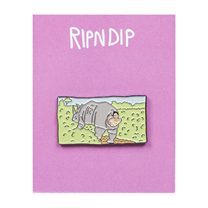 RIPNDIP Nature Calls Pin Black