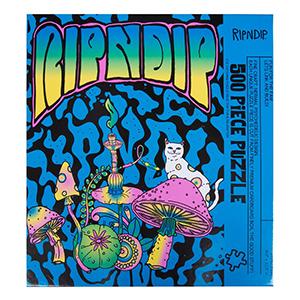 RIPNDIP Psychedelic Puzzle (500 Pieces)
