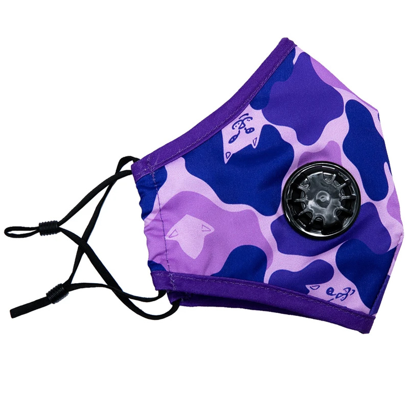 RIPNDIP Purple Camo Ventilated Mask
