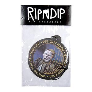 RIPNDIP Space Program Air Freshener Black