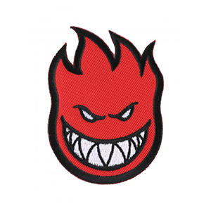 Spitfire Bighead Patch Red Small