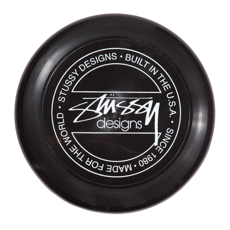 Stussy Flying Disc Black