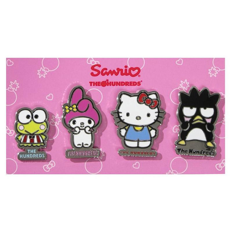 The Hundreds X Sanrio Pin Set