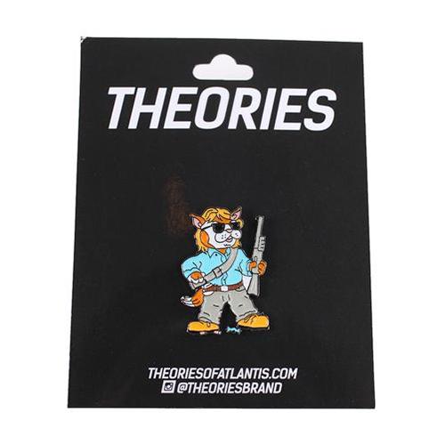 Theories Nada Enamel Pins