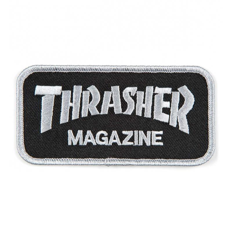 Thrasher Logo Patch Black