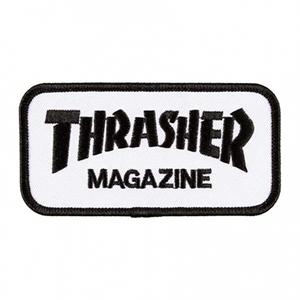 Thrasher Logo Patch Black/White