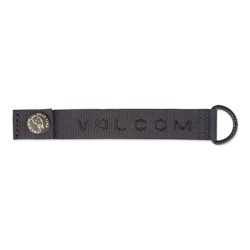 Volcom Vlc X Ah Keychain Black