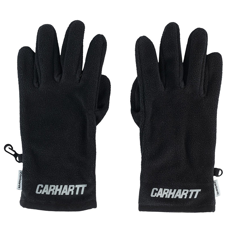 Carhartt WIP Beaufort Gloves Black/Reflective