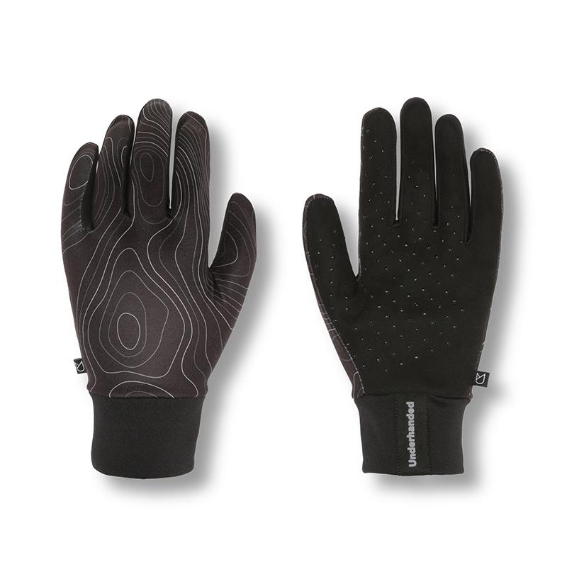 Underhanded Super Gloves Topography