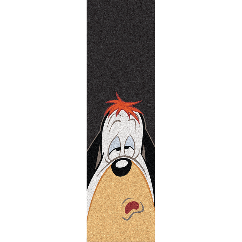 Almost Droopy Face Griptape Sheet Black 9.0