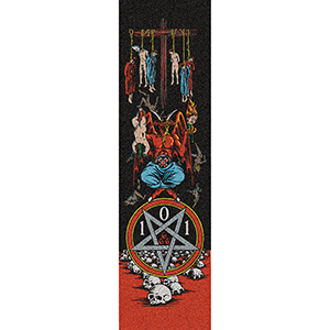 Blind Devil Worship Griptape Sheet Multi 9.0