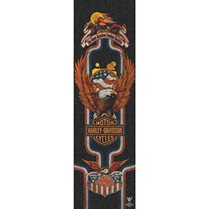 Darkstar Harley-Davidson Eagle Griptape Sheet Black 9.0