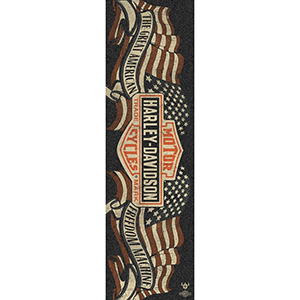 Darkstar Harley-Davidson Freedom Griptape Sheet Black 9.0