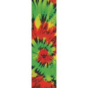 Darkstar Tie Dye Griptape Sheet Rasta 9.0