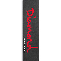 Diamond Og Script Griptape Red