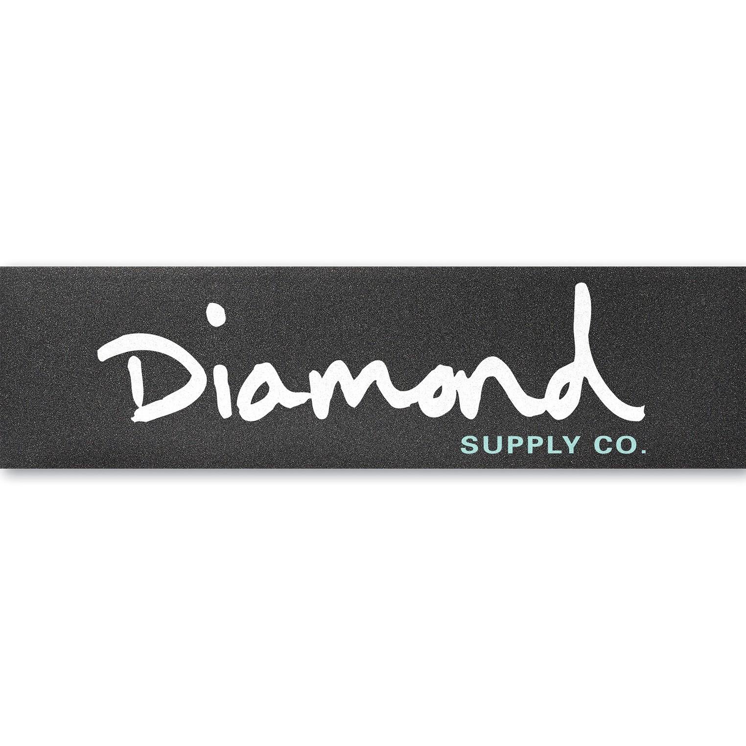 Diamond Og Script Griptape White