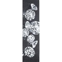 Diamond Spilled Jewels Griptape Black