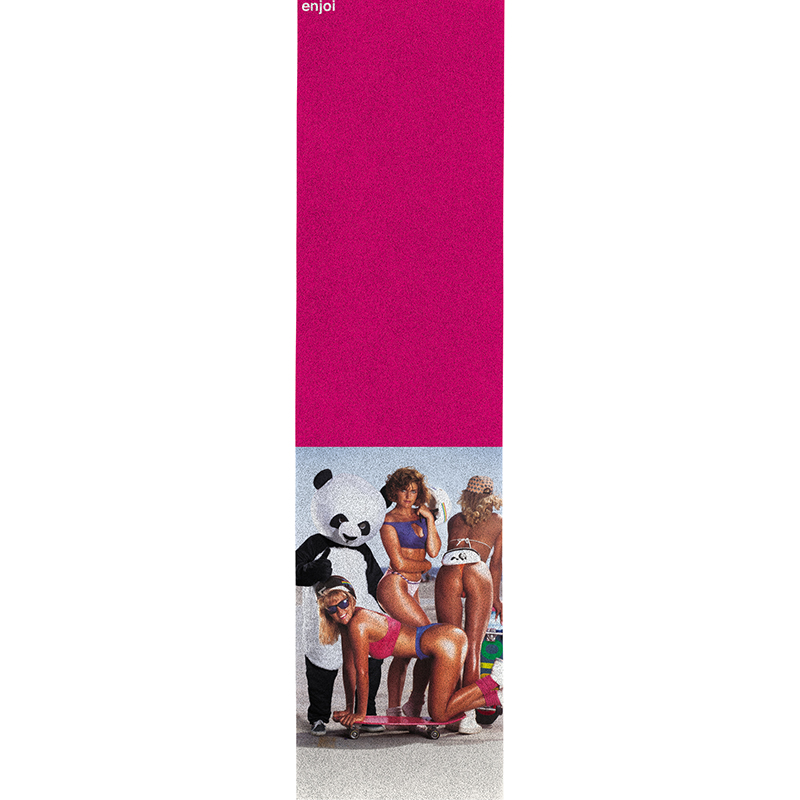 enjoi Slick Chicks Griptape Sheet Pink 9.0
