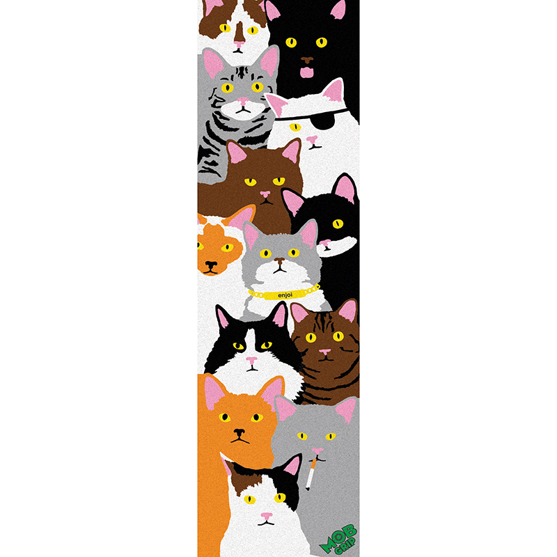 enjoi x MOB Cat Collage Griptape Sheet 9.0