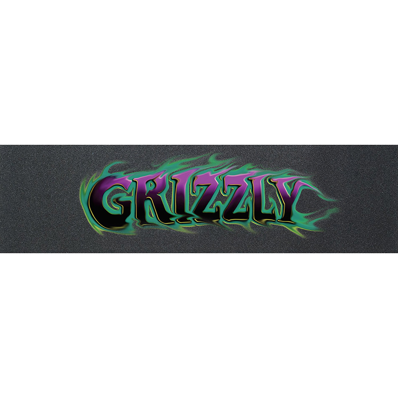 Grizzly Cave Digger Griptape Sheet Purple 9.0