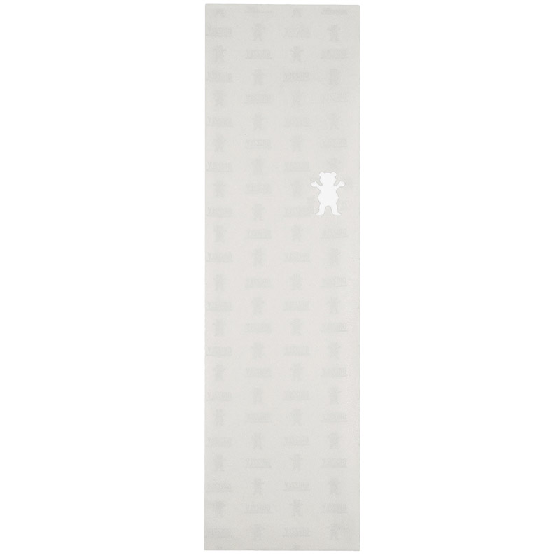 Grizzly Clear Cutout Griptape Sheet Clear 9.0