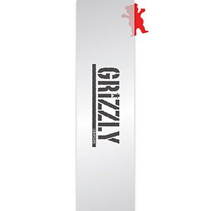 Grizzly Clear Stamp Griptape Sheet Clear 9.0